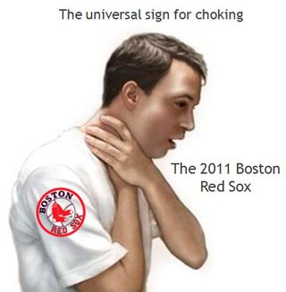 Red Sox Choking