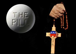 The pill and the church
