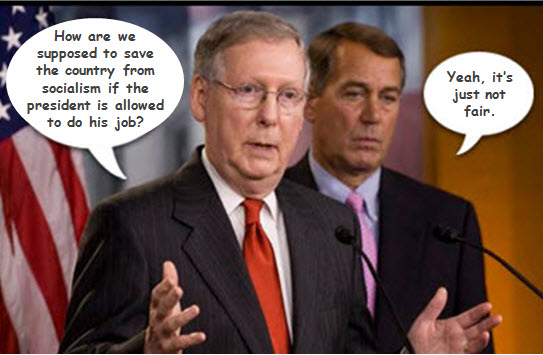 GOP Obstructionism