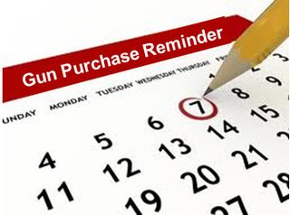 Gun purchase reminder